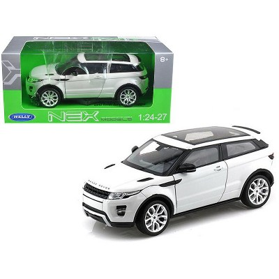 Range Rover Land Rover Evoque with Sunroof White 1/24-1/27 Diecast Model Car by Welly