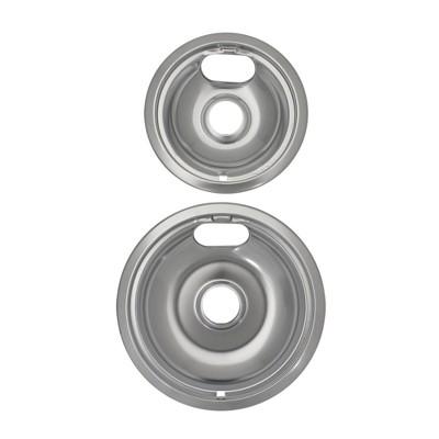 Range Kleen 2pc Chrome Style A Drip Bowls