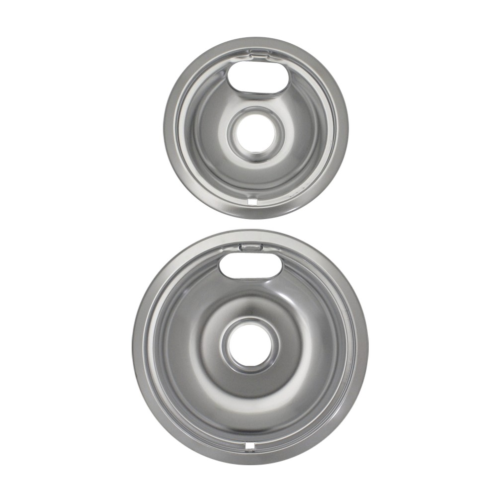 Image of Range Kleen 2pc Chrome Style A Drip Bowls