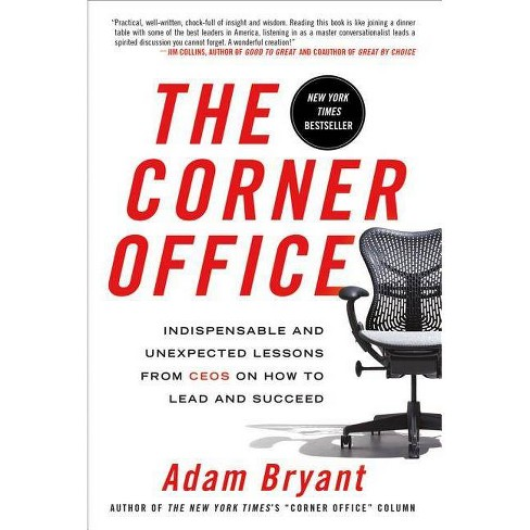 The Corner Office - by  Adam Bryant (Paperback) - image 1 of 1