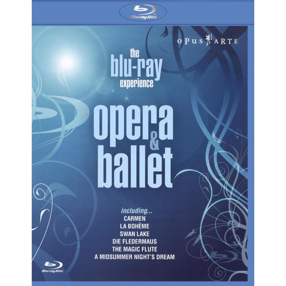 Experience:Opera And Ballet (Blu-ray)