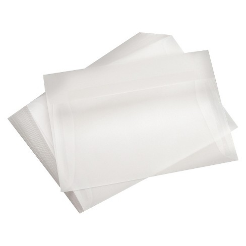 leader a7 vellum envelopes clear target