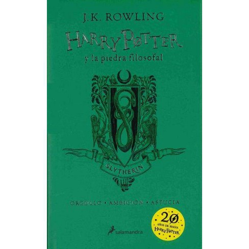 Harry Potter Y La Piedra Filosofal. Edici�n Slytherin / Harry Potter and the Sorcerer's Stone: Slytherin Edition - by  J K Rowling (Hardcover) - image 1 of 1