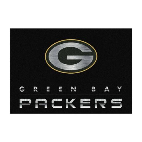 Nfl Green Bay Packers 6 X8 Chrome Rug Target