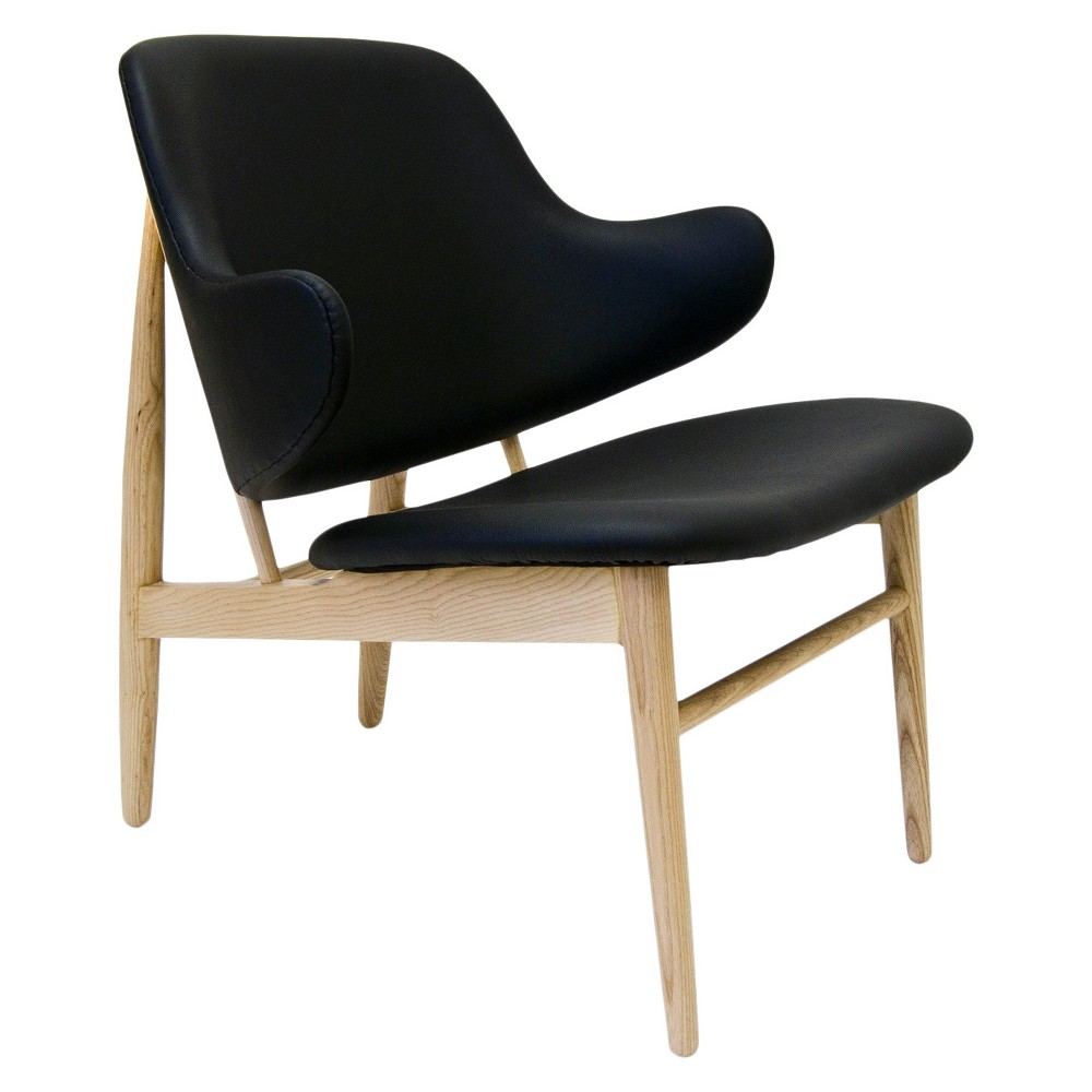 Awesome Mina Accent Chair Black Aeon Gmtry Best Dining Table And Chair Ideas Images Gmtryco