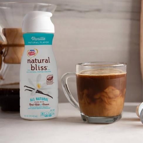 Coffee Mate Natural Bliss Vanilla Coffee Creamer - 1qt