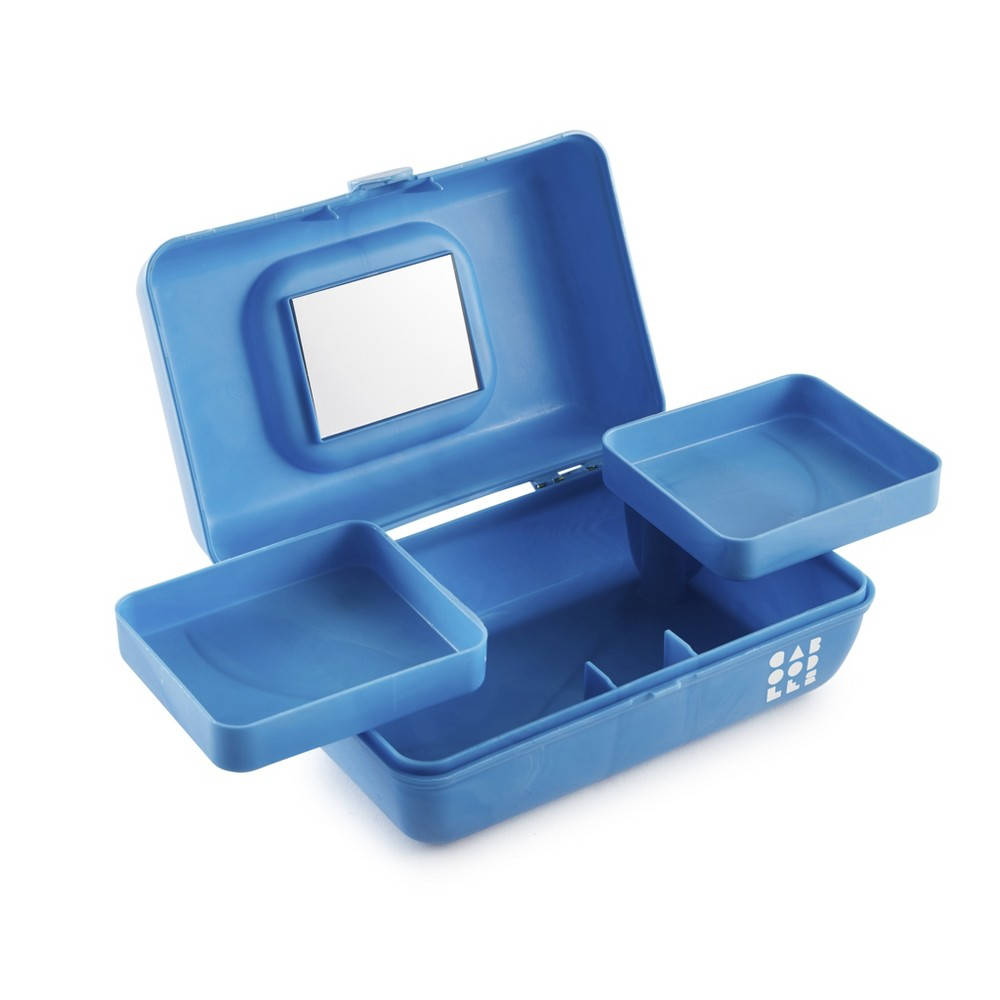 Caboodles Makeup Bags And Organizers Retro Pretty in Petite - Blue