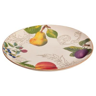 Bonjour Orchard Harvest Round Platter (12 )