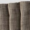 Textured Weave Back Tab Window Curtain Panel - Threshold™ - image 2 of 2