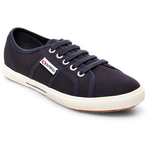Women's Superga Canvas Low Top Sneakers - Navy - image 1 of 4