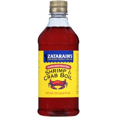 Zatarain's Concentrated Shrimp & Crab Boil Spice - 16 Floz