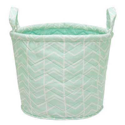 Quilted Storage Bin Herringbone - Cloud Island™ Mint