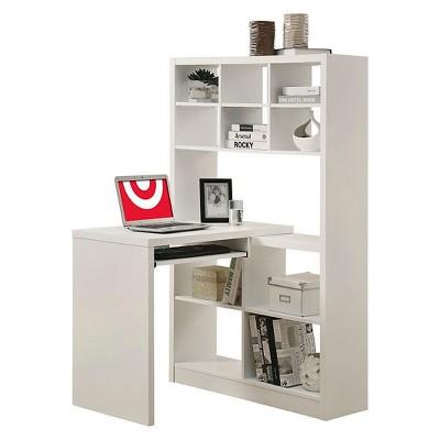 Charmant Corner Desk   White   EveryRoom