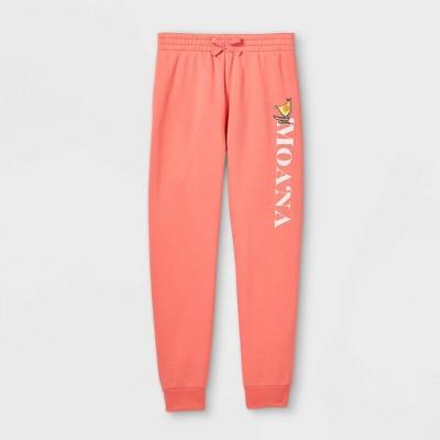Girls' Disney Moana Jogger Pants - Pink