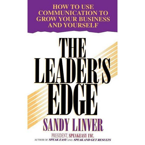 Leader's Edge - by  Sandy Linver (Paperback) - image 1 of 1