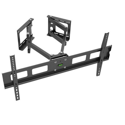 Monoprice Cornerstone Series Corner Friendly Full-Motion Articulating TV Wall Mount Bracket For LED TVs 37in to 63in, Ma