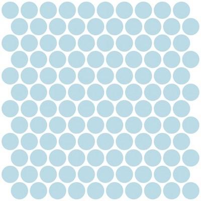 Brewster Penny Peel & Stick Backsplash Tile Paper Blue