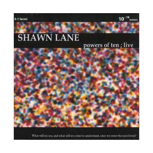 Shawn Lane - Powers of Ten: Live! (CD) - image 1 of 1
