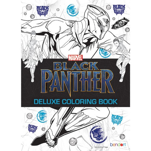 Marvel Black Panther Deluxe Coloring Book - Bendon - image 1 of 1
