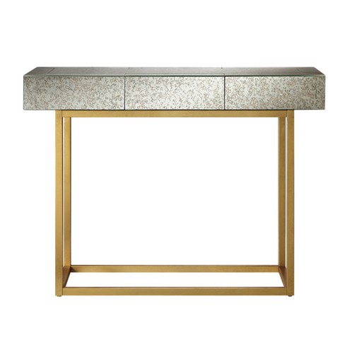 Harper Console Table Mirror Gold Target