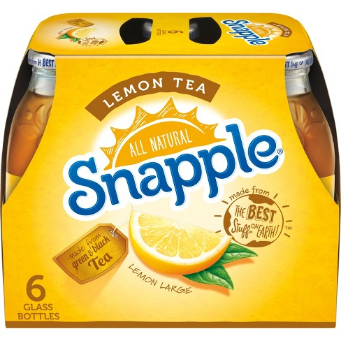 Snapple Lemon Tea - 6pk/16 fl oz Glass Bottles - image 1 of 3