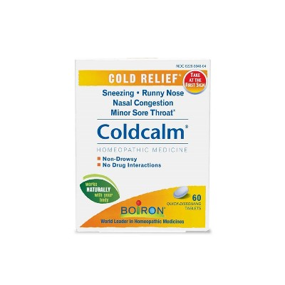 Cold & Flu: Boiron Coldcalm Quick Dissolving Tablets