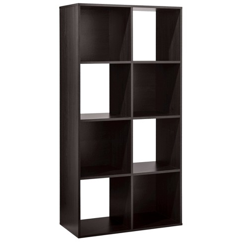 8 Cube Storage Organizer Display Square Open Bookcase Shelves Storage White NEW