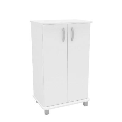 Michigan 2 Door Storage Cabinet White - Chique