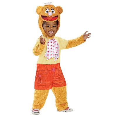 Toddler Muppets Fozzie Halloween Costume 3T-4T