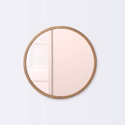 Round Wall Mirror - Cloud Island™ Gold