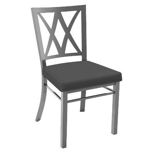 Washington Dining Chair Metal/Gray - Amisco - image 1 of 2