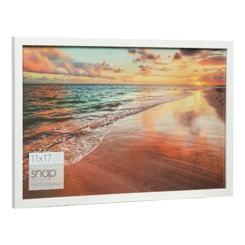 Single Image 11x17 White Wood Frame Gallery Solutions Target