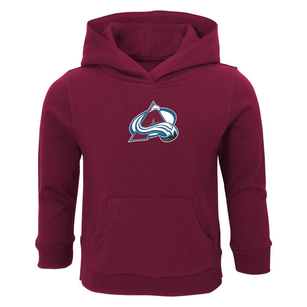 Nhl Colorado Avalanche Toddler Boys 39 Shootout Poly Hoodie 2t