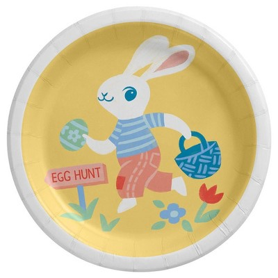 20ct Snack Easter Plate Bunny - Spritz™