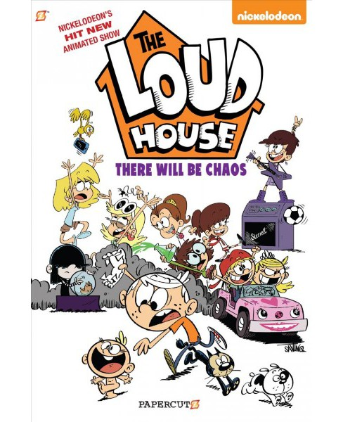 Loud House 1 : There Will Be Chaos -  (The Loud House) by Chris Savino (Hardcover) - image 1 of 1