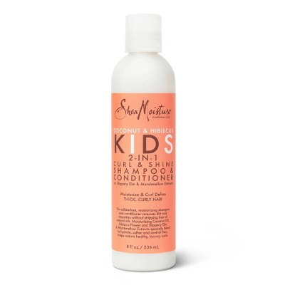 SheaMoisture 2-in-1 Shampoo and Conditioner for Kids Coconut and Hibiscus - 8 fl oz