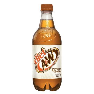 A&W Diet Cream Soda - 20 fl oz Bottle