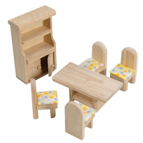 Plan Toys Classic Dining Room Doll House Furniture Target