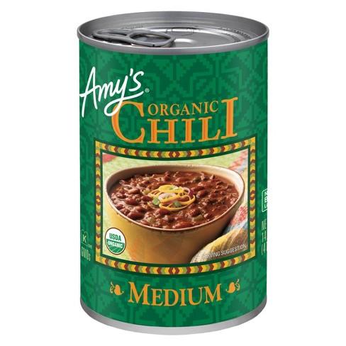 Amy's Organic Medium Chili 14.7oz - image 1 of 4