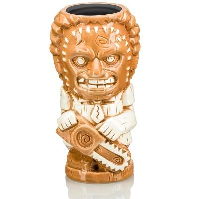 Beeline Creative Geeki Tikis Texas Chainsaw Massacre Leatherface Ceramic Mug   Holds 26 Ounces