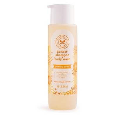 Honest Company Sweet Orange Vanilla Shampoo & Body Wash - 18oz
