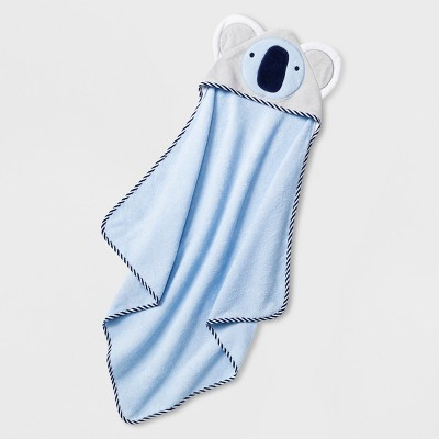 Baby Boys' Koala Hooded Towel - Cloud Island™ Blue One Size