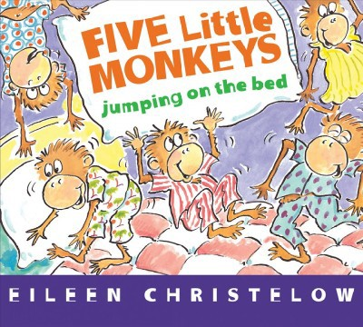 Five Little Monkeys Jumping on the Bed (Hardcover)(Eileen Christelow)