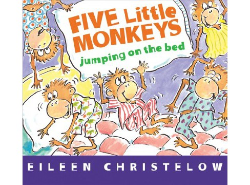 Five Little Monkeys Jumping on the Bed (Hardcover) (Eileen Christelow) - image 1 of 1
