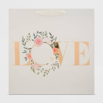 Large Love Wreath Gift Bag - Spritz™