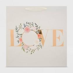 Square Love Wreath Gift Bag - Spritz™