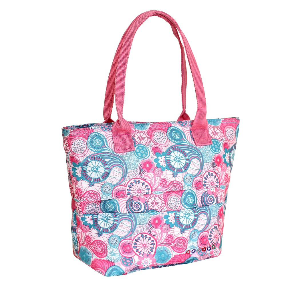 Image of J World Lola Lunch Bag with Back Pocket - Blue Raspberry