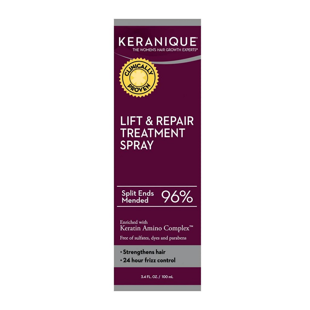 Image of Keranique Lift & Repair Treatment Spray - 3.4 fl oz