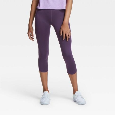 Girls Side Pocket Capri Leggings All In Motion Target