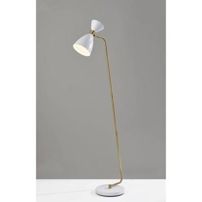 Oscar Floor Lamp White - Adesso